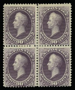 Sale Number 930, Lot Number 2112, 1887 American Bank Note Co. Issue (Scott 212-218)90c Purple (218), 90c Purple (218)