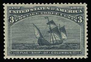 Sale Number 930, Lot Number 2149, 1893 Columbian Issue (Scott 230-245)3c Columbian (232), 3c Columbian (232)