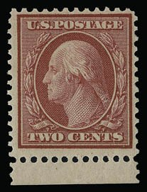 Sale Number 930, Lot Number 2415, 1909 Bluish Paper Issue (Scott 357-366)2c Carmine, Bluish (358), 2c Carmine, Bluish (358)