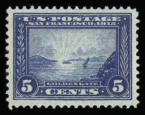 Sale Number 930, Lot Number 2458, 1913-15 Panama-Pacific Issue (Scott 397-404)1c-5c Panama-Pacific (397-399), 1c-5c Panama-Pacific (397-399)