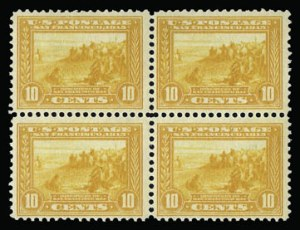 Sale Number 930, Lot Number 2469, 1913-15 Panama-Pacific Issue (Scott 397-404)10c Orange Yellow, Panama-Pacific (400), 10c Orange Yellow, Panama-Pacific (400)