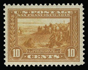 Sale Number 930, Lot Number 2471, 1913-15 Panama-Pacific Issue (Scott 397-404)10c Orange, Panama-Pacific (400A), 10c Orange, Panama-Pacific (400A)