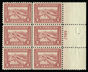 Sale Number 930, Lot Number 2474, 1913-15 Panama-Pacific Issue (Scott 397-404)2c Panama-Pacific, Perf 10 (402), 2c Panama-Pacific, Perf 10 (402)