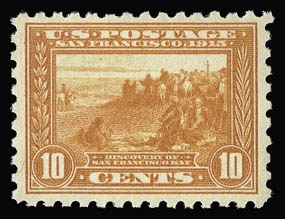 Sale Number 930, Lot Number 2479, 1913-15 Panama-Pacific Issue (Scott 397-404)10c Panama-Pacific, Perf 10 (404), 10c Panama-Pacific, Perf 10 (404)