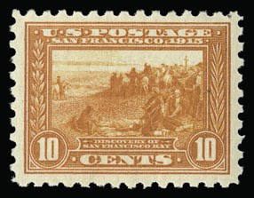 Sale Number 930, Lot Number 2481, 1913-15 Panama-Pacific Issue (Scott 397-404)10c Panama-Pacific, Perf 10 (404), 10c Panama-Pacific, Perf 10 (404)