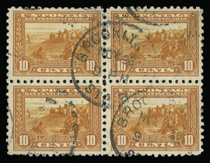 Sale Number 930, Lot Number 2488, 1913-15 Panama-Pacific Issue (Scott 397-404)10c Panama-Pacific, Perf 10 (404), 10c Panama-Pacific, Perf 10 (404)