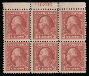 Sale Number 930, Lot Number 2595, 1917-19 Issues (Scott 481-524)2c Deep Rose, Ty. Ia (500), 2c Deep Rose, Ty. Ia (500)