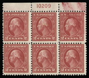 Sale Number 930, Lot Number 2596, 1917-19 Issues (Scott 481-524)2c Deep Rose, Ty. Ia (500), 2c Deep Rose, Ty. Ia (500)