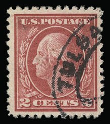 Sale Number 930, Lot Number 2597, 1917-19 Issues (Scott 481-524)2c Deep Rose, Ty. Ia (500), 2c Deep Rose, Ty. Ia (500)
