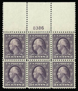 Sale Number 930, Lot Number 2599, 1917-19 Issues (Scott 481-524)3c Dark Violet, Ty. II (502), 3c Dark Violet, Ty. II (502)