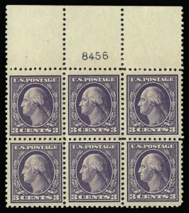 Sale Number 930, Lot Number 2600, 1917-19 Issues (Scott 481-524)3c Dark Violet, Ty. II (502), 3c Dark Violet, Ty. II (502)