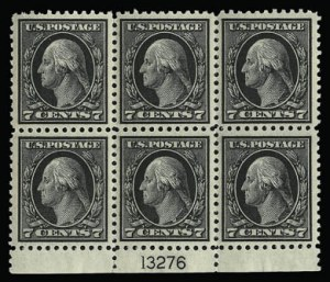 Sale Number 930, Lot Number 2601, 1917-19 Issues (Scott 481-524)4c-7c 1917-19 Issue (503-504, 506-507), 4c-7c 1917-19 Issue (503-504, 506-507)