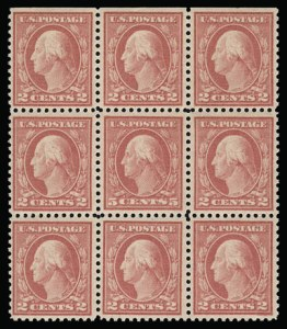 Sale Number 930, Lot Number 2603, 1917-19 Issues (Scott 481-524)5c Rose, Error (505), 5c Rose, Error (505)