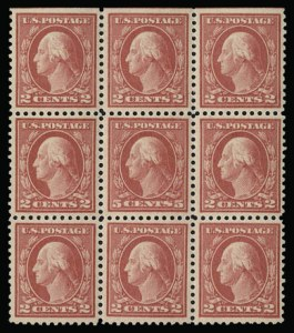 Sale Number 930, Lot Number 2605, 1917-19 Issues (Scott 481-524)5c Rose, Error (505), 5c Rose, Error (505)