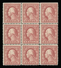 Sale Number 930, Lot Number 2606, 1917-19 Issues (Scott 481-524)5c Rose, Error (505), 5c Rose, Error (505)