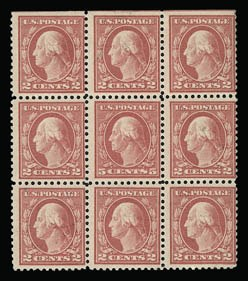 Sale Number 930, Lot Number 2607, 1917-19 Issues (Scott 481-524)5c Rose, Error (505), 5c Rose, Error (505)