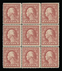 Sale Number 930, Lot Number 2608, 1917-19 Issues (Scott 481-524)5c Rose, Error (505), 5c Rose, Error (505)