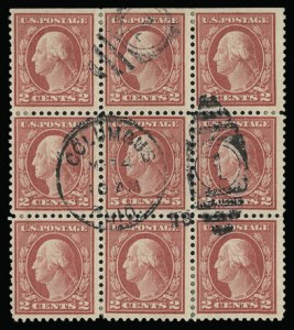 Sale Number 930, Lot Number 2609, 1917-19 Issues (Scott 481-524)5c Rose, Error (505), 5c Rose, Error (505)
