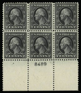 Sale Number 930, Lot Number 2611, 1917-19 Issues (Scott 481-524)7c Black (507), 7c Black (507)