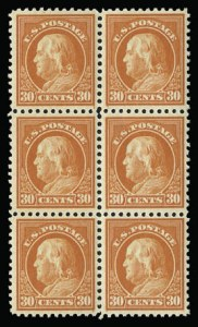 Sale Number 930, Lot Number 2619, 1917-19 Issues (Scott 481-524)30c Orange Red (516), 30c Orange Red (516)