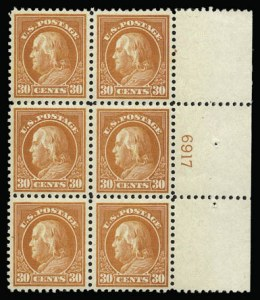 Sale Number 930, Lot Number 2620, 1917-19 Issues (Scott 481-524)30c Orange Red (516), 30c Orange Red (516)