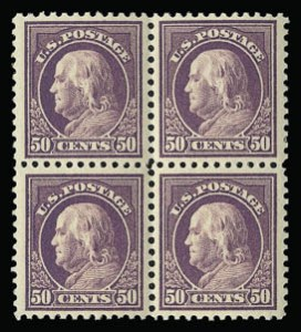 Sale Number 930, Lot Number 2622, 1917-19 Issues (Scott 481-524)50c Red Violet (517), 50c Red Violet (517)