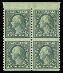 Sale Number 930, Lot Number 2649, 1919-20 Issues (Scott 537-550)1c Green, 2c Carmine Rose, Imperforate Horizontally (538a, 540a), 1c Green, 2c Carmine Rose, Imperforate Horizontally (538a, 540a)