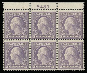 Sale Number 930, Lot Number 2650, 1919-20 Issues (Scott 537-550)3c Violet, Ty. II (541), 3c Violet, Ty. II (541)