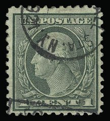 Sale Number 930, Lot Number 2656, 1919-20 Issues (Scott 537-550)1c Green, 2c Carmine, Rotary (545-546), 1c Green, 2c Carmine, Rotary (545-546)