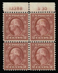 Sale Number 930, Lot Number 2657, 1919-20 Issues (Scott 537-550)2c Carmine Rose, Ty. III, Rotary (546), 2c Carmine Rose, Ty. III, Rotary (546)