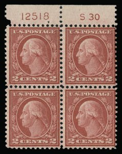 Sale Number 930, Lot Number 2658, 1919-20 Issues (Scott 537-550)2c Carmine Rose, Ty. III, Rotary (546), 2c Carmine Rose, Ty. III, Rotary (546)