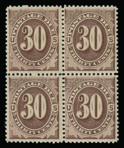 Sale Number 930, Lot Number 2779, Postage Due30c Red Brown (J20), 30c Red Brown (J20)