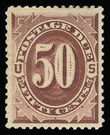 Sale Number 930, Lot Number 2783, Postage Due50c Bright Claret (J28), 50c Bright Claret (J28)