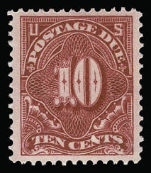 Sale Number 930, Lot Number 2788, Postage Due10c Rose Carmine (J49a), 10c Rose Carmine (J49a)