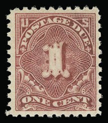 Sale Number 930, Lot Number 2790, Postage Due1c Rose (J59), 1c Rose (J59)