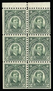 Sale Number 930, Lot Number 3167, Philippines1914, 2c Green, Booklet Pane of Six (276a), 1914, 2c Green, Booklet Pane of Six (276a)