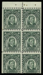 Sale Number 930, Lot Number 3168, Philippines1914, 2c Green, Booklet Pane of Six (276a), 1914, 2c Green, Booklet Pane of Six (276a)