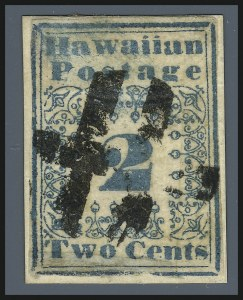 Sale Number 931, Lot Number 4002, The Missionaries1851, 2c Blue (1), 1851, 2c Blue (1)