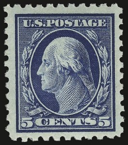 Sale Number 932, Lot Number 118, 1913-15 Issue (Scott 425 to 440)5c Blue (428), 5c Blue (428)