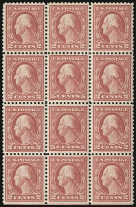 Sale Number 932, Lot Number 245, 1917-19 Issue (Scott 498 to 518)5c Rose, Error (505), 5c Rose, Error (505)