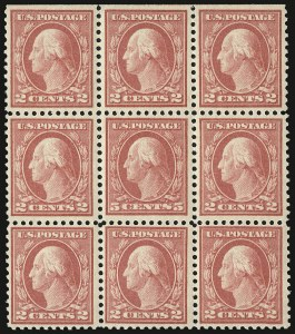 Sale Number 932, Lot Number 246, 1917-19 Issue (Scott 498 to 518)5c Rose, Error (505), 5c Rose, Error (505)