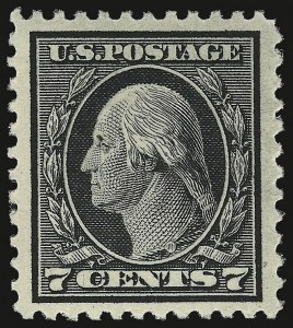 Sale Number 932, Lot Number 249, 1917-19 Issue (Scott 498 to 518)7c Black (507), 7c Black (507)