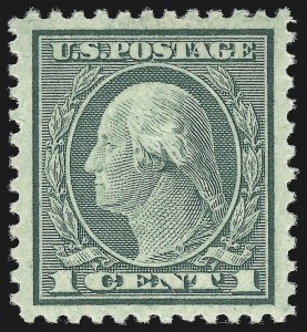 Sale Number 932, Lot Number 284, 1919-22 Rotary Press Issues (Scott 538 to 546)1c Green, Rotary Perf 11 (545), 1c Green, Rotary Perf 11 (545)