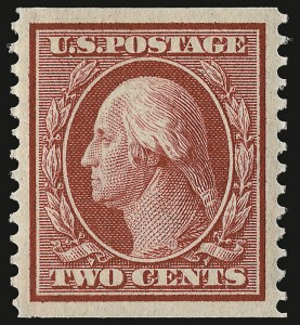 Sale Number 932, Lot Number 29, 1908-10 Coil Issue (Scott 348 to 356)2c Carmine, Coil (353), 2c Carmine, Coil (353)