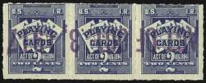 Sale Number 934, Lot Number 2375, Playing Cards Stamps7c on 2c Blue, Playing Cards, Los Angeles Surcharge (RF5 var), 7c on 2c Blue, Playing Cards, Los Angeles Surcharge (RF5 var)