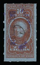 Sale Number 934, Lot Number 2665, Cigar StampsCigar Stamps, 1917 Provisional Issue, Cigar Stamps, 1917 Provisional Issue