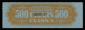 Sale Number 934, Lot Number 2670, Cigar StampsCigar Stamps, Series 107 (1937), Cigar Stamps, Series 107 (1937)