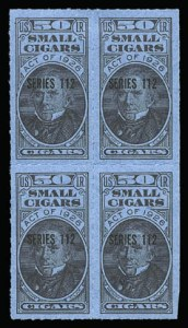 Sale Number 934, Lot Number 2676, Cigar StampsSmall Cigar Stamps, Small Cigar Stamps