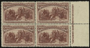 Sale Number 935, Lot Number 16, Columbian Issue$2.00 Columbian (242), $2.00 Columbian (242)