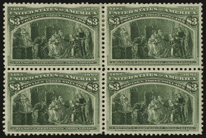 Sale Number 935, Lot Number 17, Columbian Issue$3.00 Columbian (243), $3.00 Columbian (243)